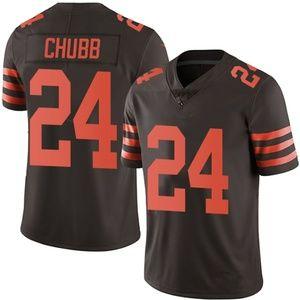 #24 Chubb Brown Stitched Jersey